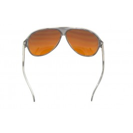 Translucent Gray Aviator BluBlocker